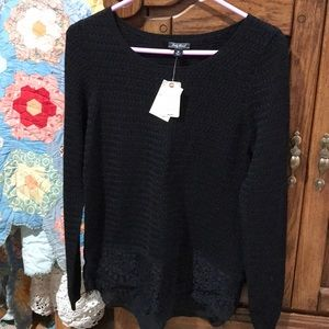 Very Soft Dressy Black Sweater